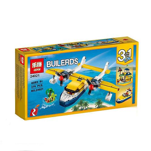 Коробка аналог Lego Creator Приключения на островах | 31064 | LEGOREPLICA