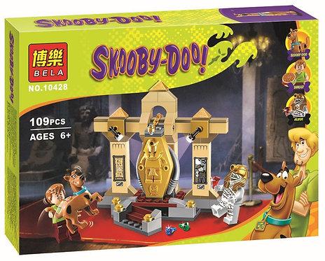 Коробка BELA Scooby Doo Тайна музея мумий | 75900 | IQREPLICA