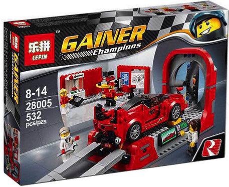 Коробка аналог Lego Ferrari FXX Центр разработки и проектирования | 75882 | LEGOREPLICA
