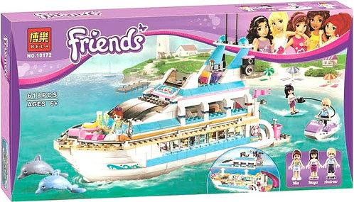 Коробка аналог Lego Friends Круизный лайнер | 41015 | LEGOREPLICA