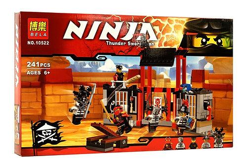 Коробка аналог Lego Ninjago Побег из тюрьмы Криптариум | 70591 | LEGOREPLICA