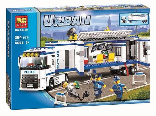 Коробка аналог Lego City Выездной отряд полиции | 60044 | LEGOREPLICA
