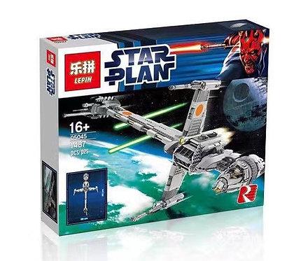 Коробка аналог Lego Star Wars Истребитель B-WING | 10227 | LEGOREPLICA