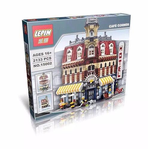 Коробка аналог Lego Creator Кафе на Углу | 10182 | LEGOREPLICA