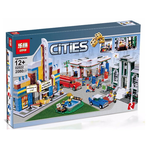 Конструктор LEPIN План города | 10184