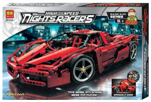 Коробка аналог Lego Racers Enzo Ferrari 1:10 | 8653 | LEGOREPLICA