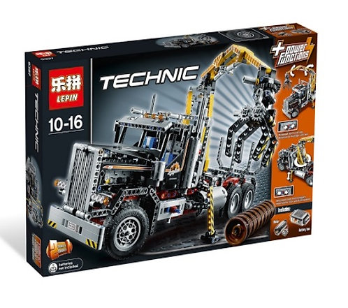 Коробка LEPIN Technic Грузовой лесопогрузчик   9397   IQREPLICA