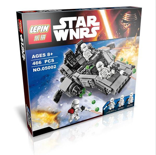 Коробка LEPIN Star Wars Снежный спидер Первого Ордена | 75100 | IQREPLICA