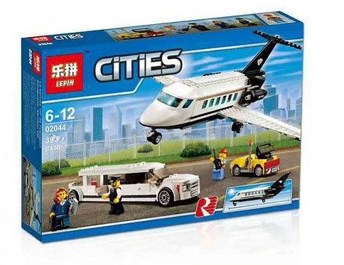 Коробка LEPIN City Series Служба аэропорта для важных клиентов   60102   IQREPLICA