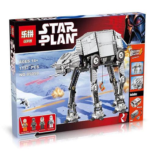 Коробка аналог Lego Star Wars Бронированный Шагоход AT-AT | 75054 | LEGOREPLICA