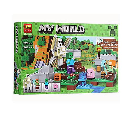 Коробка BELA Minecraft Железный голем | 21123 | IQREPLICA