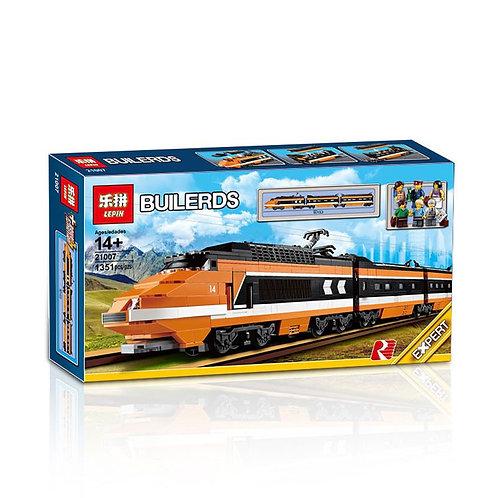 Коробка аналог Lego Creator Поезд Горизонт Экспресс | 10233 | LEGOREPLICA