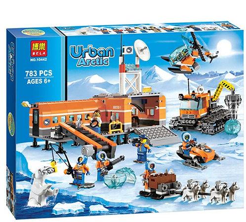 Коробка аналог Lego City Арктическая база | 60036 | LEGOREPLICA