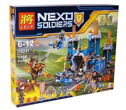 Коробка аналог Lego Nexo Knights Series Фортрекс - мобильная крепость | 70317 | LEGOREPLICA