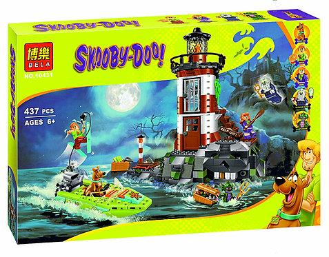 Коробка BELA Scooby Doo Маяк с привидениями   75903   IQREPLICA