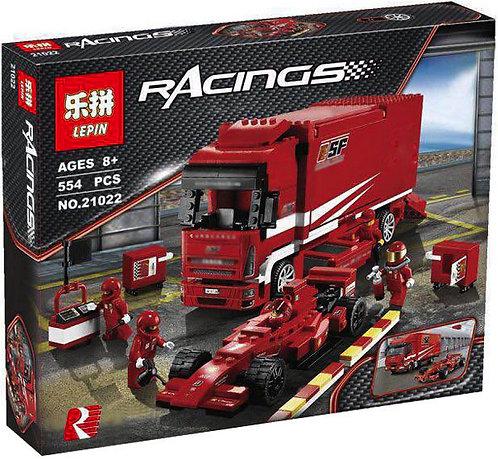 Коробка аналог Lego Racers Грузовик Ferrari | 8185 | LEGOREPLICA