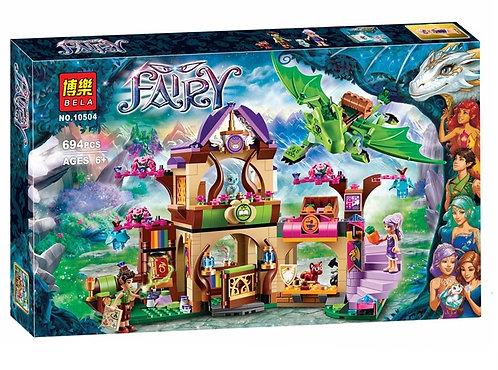 Коробка аналог Lego Elves Секретный рынок | 41176 | LEGOREPLICA