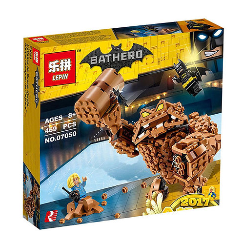 Коробка аналог Lego Batman Movie Series Атака Глиноликого | 70904 | LEGOREPLICA