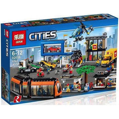 Коробка аналог Lego City Series Городская площадь | 60097 | LEGOREPLICA