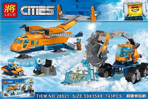Конструктор LELE Арктический грузовой самолёт | 60196