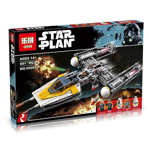 Коробка аналог Lego Star Wars Звёздный истребитель типа Y   75172   LEGOREPLICA