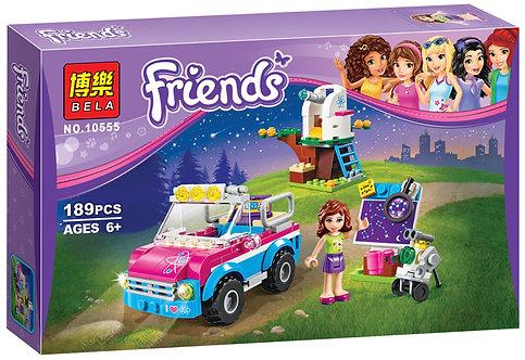 Коробка аналог Lego Friends Звездное небо Оливии   41116   LEGOREPLICA