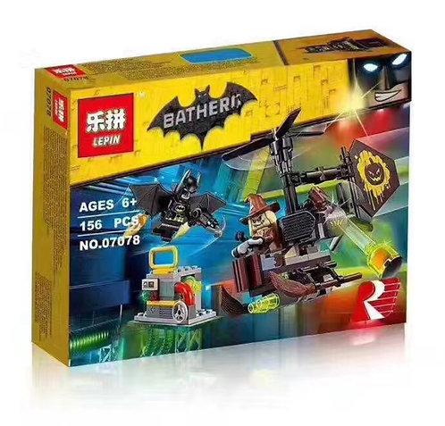 Коробка LEPIN Batman Movie Series Схватка с Пугалом | 70913 | IQREPLICA