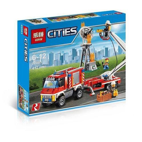Конструктор LEPIN Пожарный вспомогательный грузовик | 60111