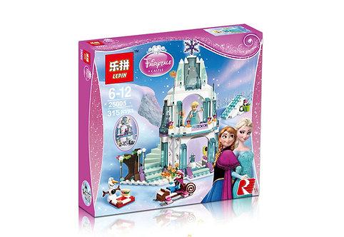 Коробка аналог Lego Disney Ледяной замок Эльзы | 41062 | LEGOREPLICA