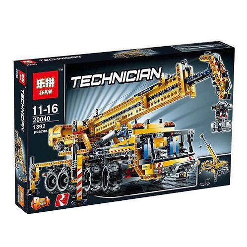 Коробка аналог Lego Technic Передвижной Кран | 8053 | LEGOREPLICA