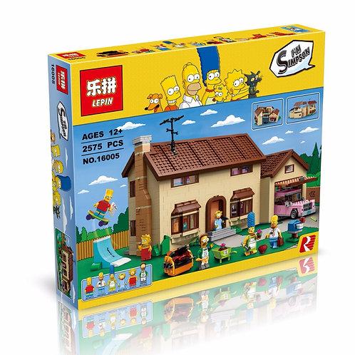 Коробка аналог Lego Creator Дом Симпсонов | 71006 | LEGOREPLICA