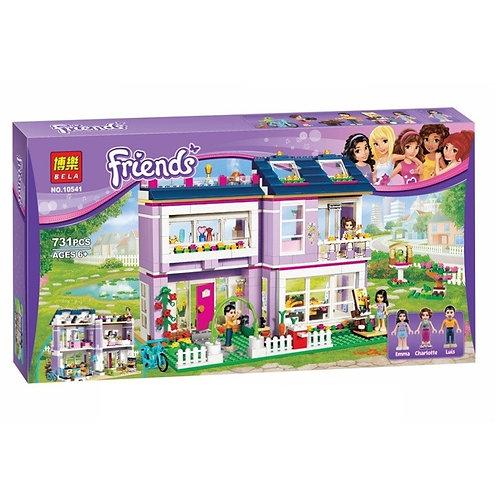 Коробка аналог Lego Friends Дом Эммы | 41095 | LEGOREPLICA