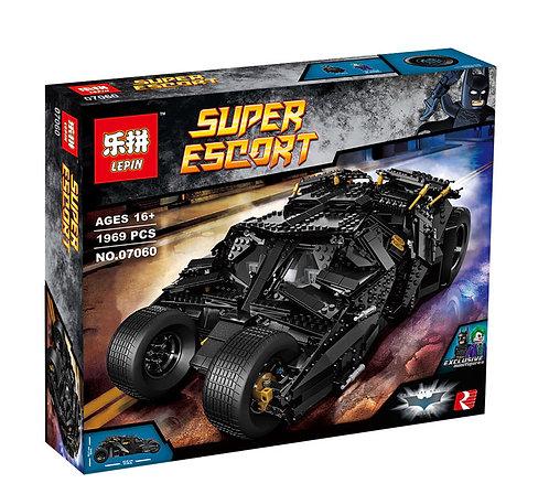 Коробка аналог Lego Super Heroes Бэтмобиль The Tumbler   76023   LEGOREPLICA
