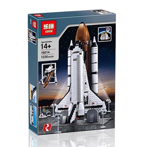 Коробка аналог Lego Exclusive Космический шаттл | 10231 и 10213 | LEGOREPLICA
