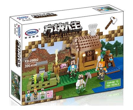 Коробка XINGBAO Minecraft MOC Прибрежный коттедж | IQREPLICA
