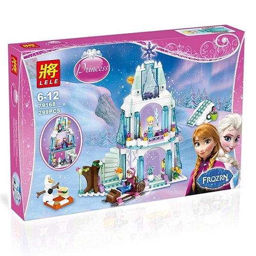 Коробка аналог Lego Disney Series Ледяной замок Эльзы | 41062 | LEGOREPLICA