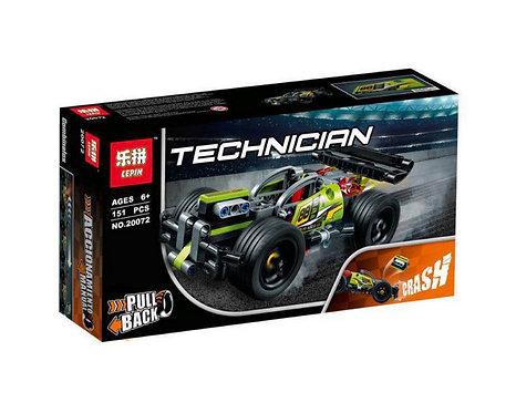 Конструктор LEPIN Зеленый гоночный автомобиль | 42072