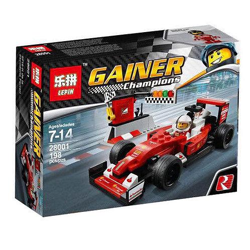 Коробка аналог Lego Racers Series Scuderia Ferrari SF16-H | 75879 | LEGOREPLICA
