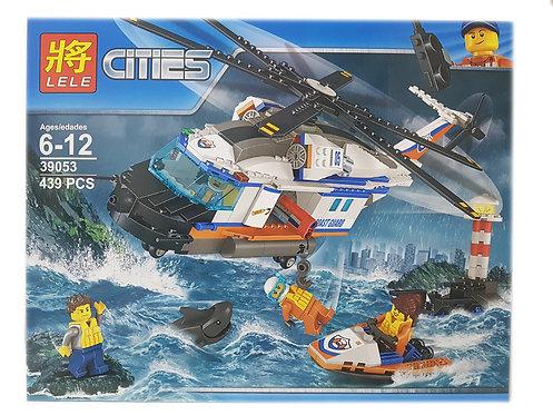 Коробка LELE Сверхмощный спасательный вертолёт   60166   IQREPLICA