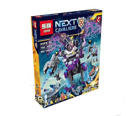 Коробка аналог Lego Nexo Knights Каменный великан-разрушитель | 70356 | LEGOREPLICA