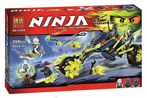 Конструктор аналог Lego Ninjago Засада на мотоцикле | 70730 | LEGOREPLICA