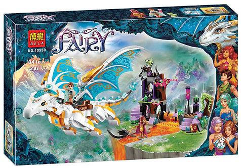 Коробка аналог Lego Elves Спасение Королевы Драконов | 41179 | LEGOREPLICA