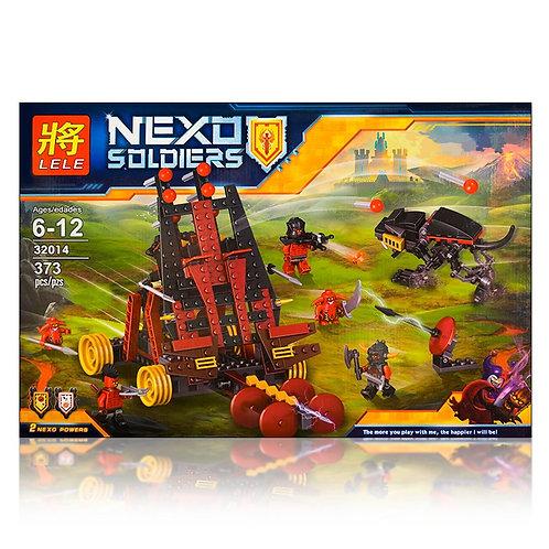Коробка LELE Nexo Knights Тяжелая катапульта Лава-монстров | IQREPLICA