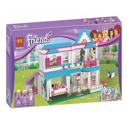 Коробка аналог Lego Friends Series Дом Стефани | 41314 | IQREPLICA