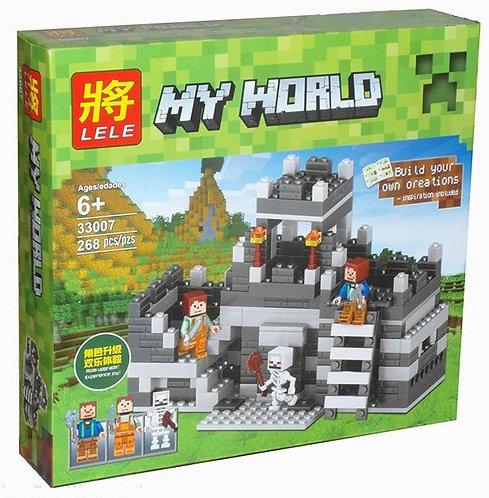 Коробка LELE Minecraft Крепостная стена | IQREPLICA