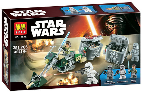 Коробка BELA Star Wars Скоростной байк Кенана | 75141 | IQREPLICA