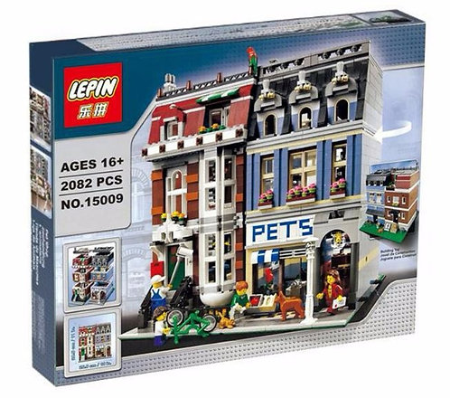 Коробка аналог Lego Creator Зоомагазин | 10218 | LEGOREPLICA