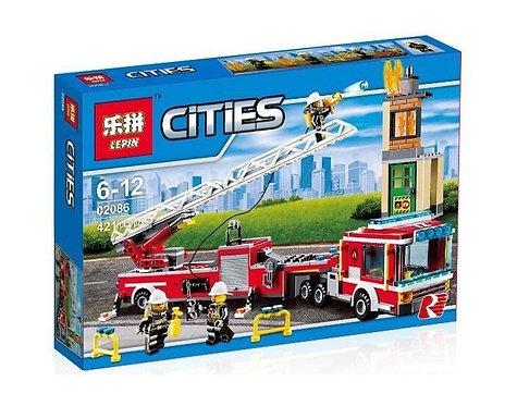 Конструктор LEPIN Пожарная машина | 60112