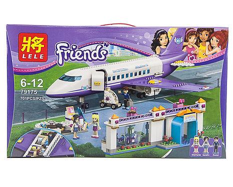 Коробка LELE Friends Аэропорт ХартЛэйк Сити | 41109 | IQREPLICA