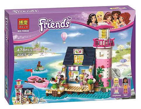 Коробка аналог Lego Friends Маяк Хартлейк Сити | 41094 | LEGOREPLICA